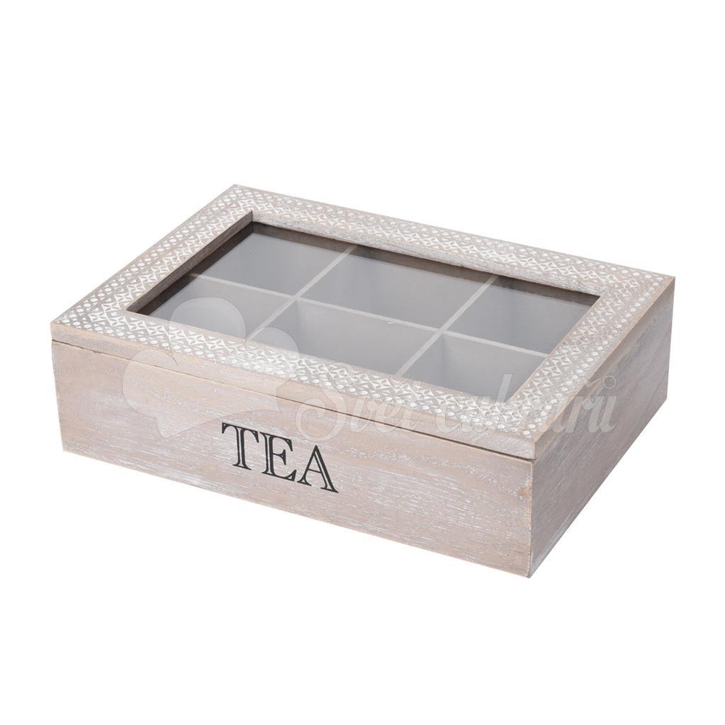 Box dřevo UH na čaj TEA - Ukládání potravin - Kuchyňské potřeby ... 66a33412f0b