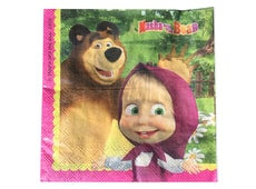 Ubrousky Máša a medvěd (Masha and The Bear)