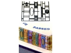 Patchwork Book Ends (Hřbety knih)