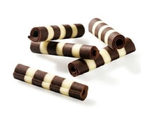 Chocolate Rolls Dark & White 60 g