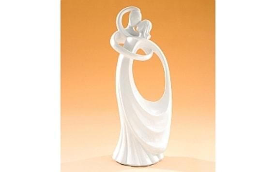 Svatebni Par 24 Cm Abstraktni Modecor Figurky Svatebni