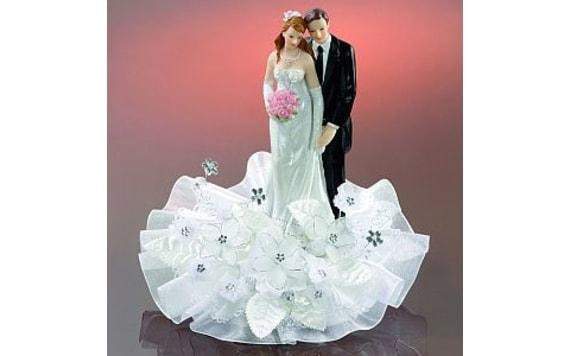 For Pastry Wedding Couple 19cm Modecor Figurky Svatebni