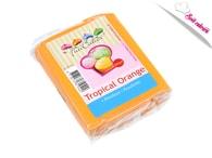 FunCakes Oranžový rolovaný fondant Tropical Orange (barevný fondán) 250 g