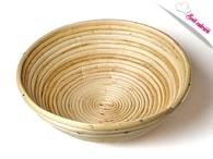 Maramisa Ošatka pedigová kulatá 1 kg (ratanová mísa na kynutí chleba)