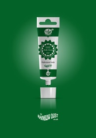 Rainbow Dust Holly green ProGel - profesionální potravinářská gelová barva v tubě (zelená)