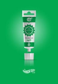 Rainbow Dust Leaf green ProGel - profesionální potravinářská gelová barva v tubě (listově zelená)