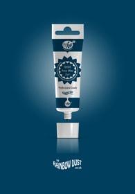 Rainbow Dust Navy blue ProGel - profesionální potravinářská gelová barva v tubě (modrá)