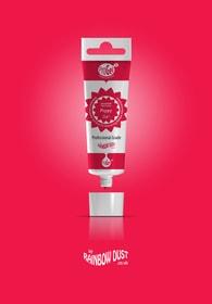 Rainbow Dust Poppy ProGel - profesionální potravinářská gelová barva v tubě (červená)