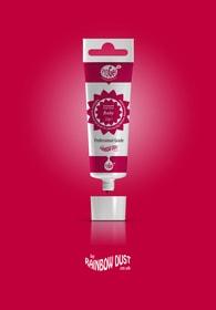 Rainbow Dust Ruby ProGel - profesionální potravinářská gelová barva v tubě (rudá)