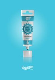Rainbow Dust Sky blue ProGel - profesionální potravinářská gelová barva v tubě (nebeská modř)