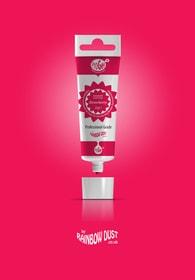 Rainbow Dust Strawberry ProGel - profesionální potravinářská gelová barva v tubě (jahodová červeň)