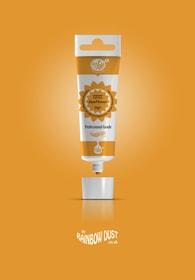 Rainbow Dust Sun Flower ProGel - profesionální potravinářská gelová barva v tubě (oranžová)