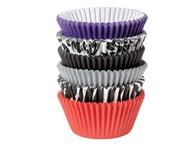 Wilton Papírové košíčky na muffiny/cupcake Zebra & Damask 150 ks (3x7 cm)