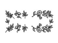 Patchwork Cutters Patchwork Blossom & Leaf Sprays (Květy s lístky)
