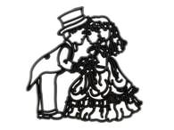 Patchwork Cutters Patchwork Bride and Groom (Nevěsta a ženich)