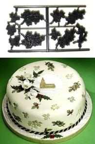 Patchwork Cutters Patchwork Mini Holy Ivy & Mistletoe (Mini cesmína a jmelí)