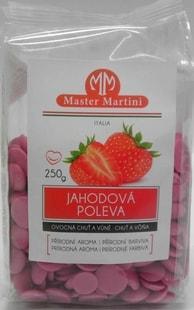 Master Martini Jahodová poleva 250g