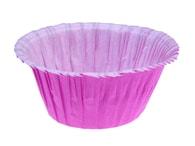 Pečící košíčky na muffiny samonosné - fialové 50 ks