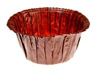 Pečící košíčky na muffiny samonosné - hnědé 50 ks