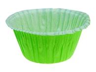 Pečící košíčky na muffiny samonosné - zelené 50 ks