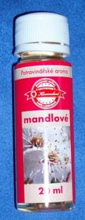 Kovandovi Potravinářské aroma mandlové 20ml