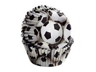 Wilton Papírové košíčky fotbal (3x5 cm)