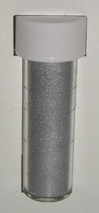 Sugarflair Colours Prachové perleťové Satin Silver (Stříbrná saténová)