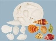 FPC Sugarcraft Sea Shells (Mořské plody) (Silikonová formička Mořské plody)
