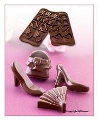 Silikomart Silikonová forma na čokoládu - Móda