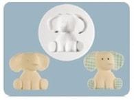 FPC Sugarcraft Silikonová forma Nursery Elephant (Sloneček)