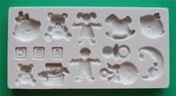 Alphabet Moulds Silikonová formička dětské motivy