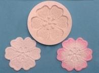 FPC Sugarcraft Silikonová formička Lace Rose (Krajková růže)