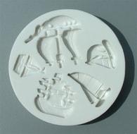 Alphabet Moulds Silikonová formička lodě a čluny