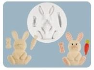FPC Sugarcraft Silikonová formička Nursery Bunny (Zajíček)