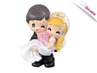 Maramisa Svatební figurky - veselý pár 7,5 cm