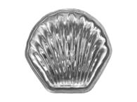 Kovovýroba Jeníkov Vyklápěcí formička mušlička 20 ks
