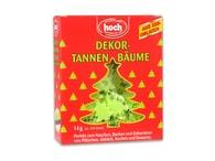 Hoch GmbH Zelené stromečky z jedlého papíru cca 200 ks
