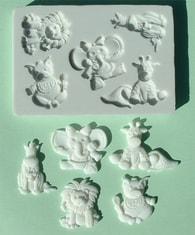 Alphabet Moulds Silikonová formička mláďata