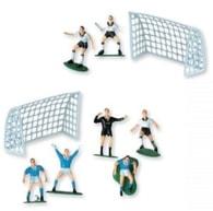 Figurky na dort s pohárem - Fotbal