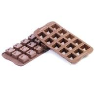 Silikomart Forma na čokoládu - Cubo