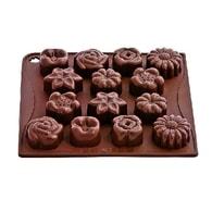 Pavoni Forma na čokoládu Bouquet (Forma mix květin)