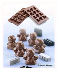 Silikomart Silikonová forma na čokoládu - Postavičky (Forma Mood)