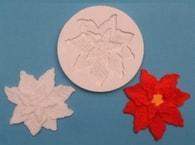 FPC Sugarcraft Silikonová formička Poinsettia (Vánoční růže)