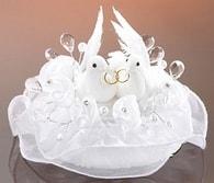 Modecor Figurky holubice 8,5 cm