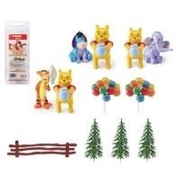 Modecor Figurky na dort Medvídek Pú (Pooh) s kamarádem