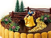 Modecor Figurky na dort Sněhurka v lese