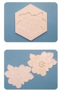 FPC Sugarcraft Silikonová formička Floral Lace Mould (Květinová krajka) (Silikonová formička)