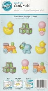 Wilton Forma na čokoládu Dětské hračky