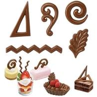 Wilton Forma na čokoládu filigránky