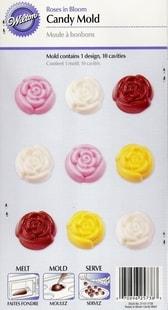 Wilton Forma na čokoládu kvítek růže
